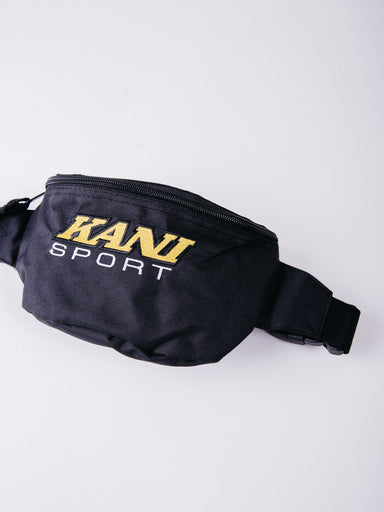 Karl Kani Sport Waist Bag Black Yellow riñonera