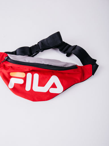 RIÑONERA FILA WAIST BAG SLIM FIERY RED rojo