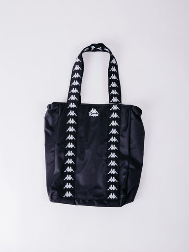bolso kappa 222 banda anim authentic shopping bag black