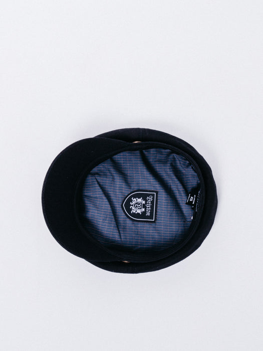 Brixton Fiddler Cap Black gorra marinero