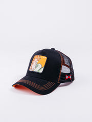 Capslab Dragon Ball Z C-16 Trucker Black/Orange