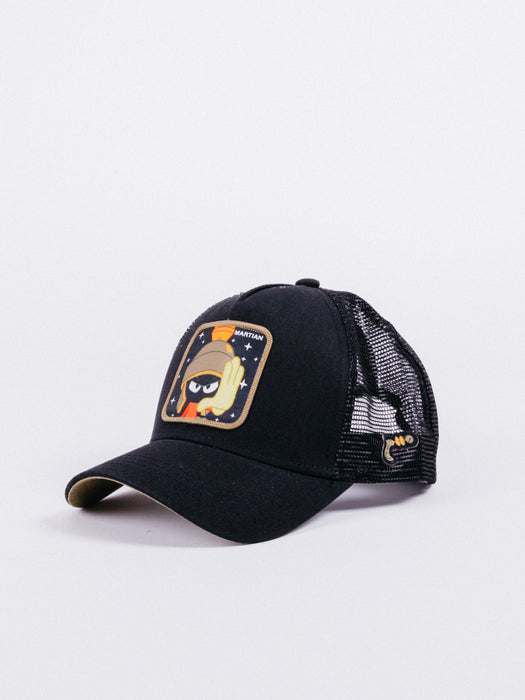 Looney Tunes Marvin The Martian Trucker Black