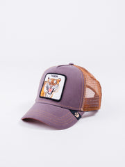 gorra Goorin Bros Eye Of The Tiger Trucker visera curva animales