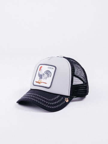 Goorin Bros King Of The Jungle Trucker Grey