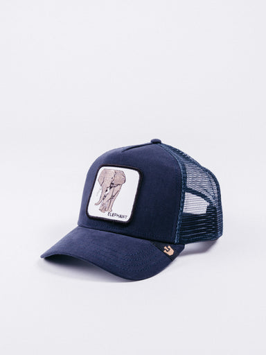 Elephant Trucker Navy