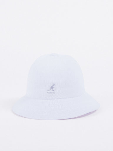 sombrero Kangol Tropic Casual Hat White blanco bucket canguro