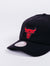 mitchell and ness chicago bulls cotton twill black