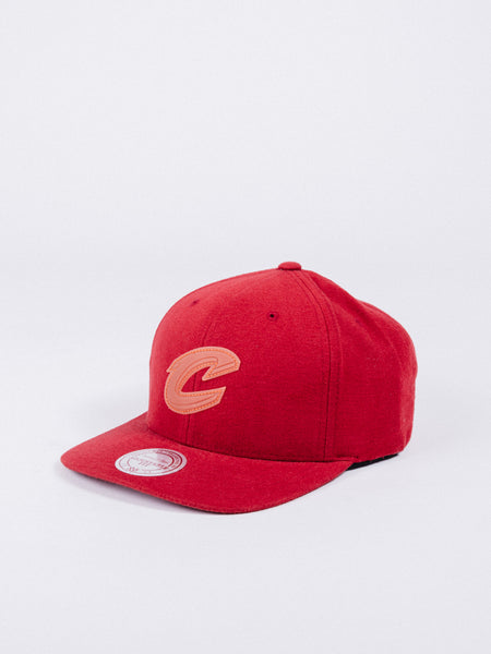 mitchell and ness cleveland cavaliers wool snapback