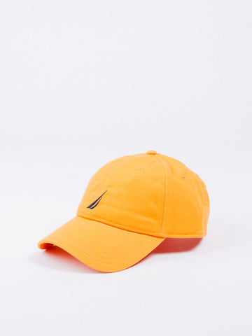 nautica orange tang gorra baseball hat visera curva