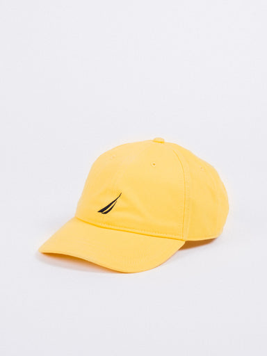 gorra nautica baseball hat  blazing yellow visera curva ajustable amarillo