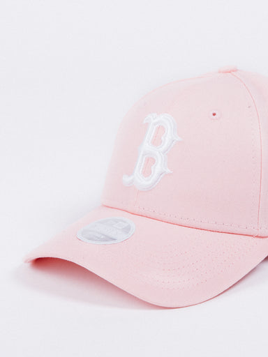 gorra NEW ERA Women League Essentials Boston Red Sox Pink Mujer visera curva