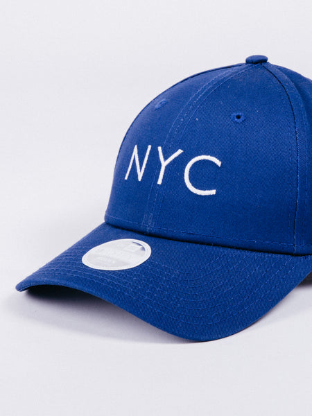 gorra NEW ERA Women Essentials 9Forty New York City Royal Blue Hat azul chica mujer visera curva NYC