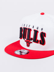 NEW ERA 9FIFTY CHICAGO BULLS RETRO PACK SNAPBACK WHITE RED