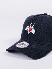 NEW ERA Character Sylvester Trucker Black Denim/Black