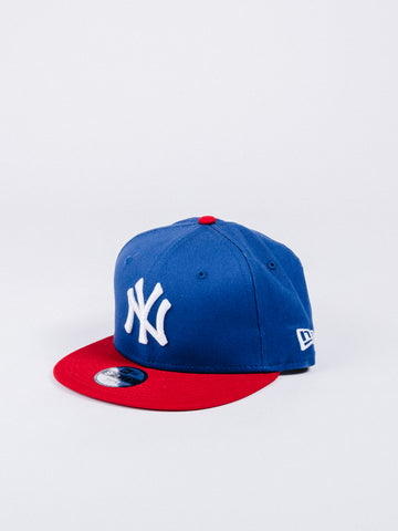 gorra new era 9fifty kids new york yankees snapback red blue visera plana niños beisbol