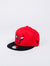 new era  chicago bulls roja negra snapback child youth visera plana niño toro nba