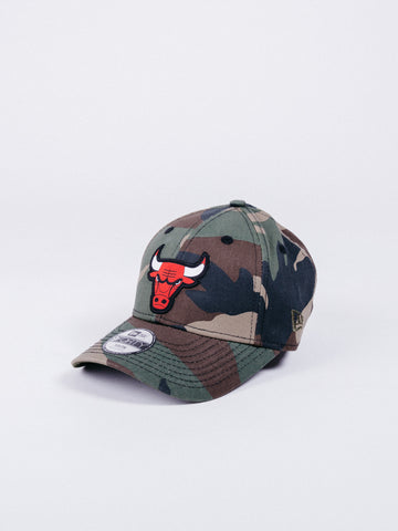 Glendale Camo Cap Youth Sun Protection