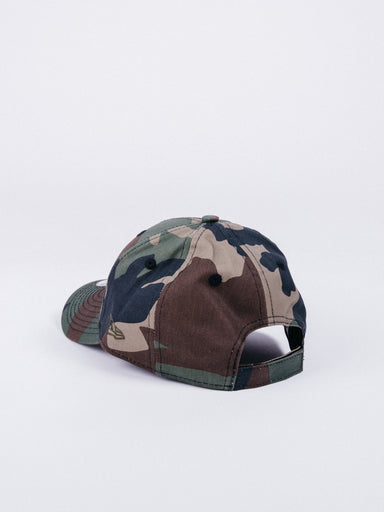 gorra new era character 9forty chicago bulls dad hat wood camo youth size talla niño niños visera curva