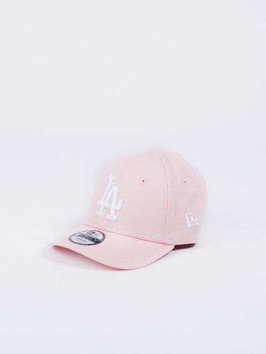 gorra new era essential 9forty los angeles dodgers kids toddler youth hat niño visera curva rosa los angeles