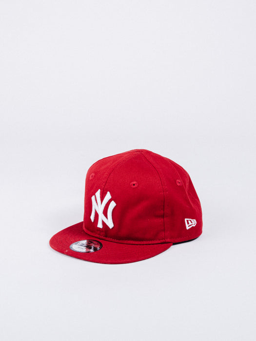 gorra new era 9fifty snapback red roja new york yankees NY visera plana talla infant bebé