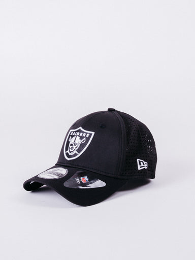 gorra new era feather perf 39thirty oakland raiders visera curva NFL football