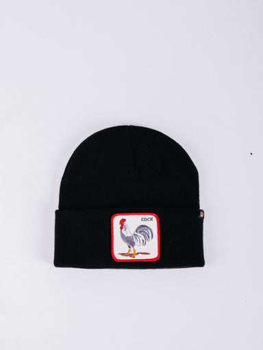 gorro goorin bros winter bird beanie black gorro de invierno gallo rooster animales parche