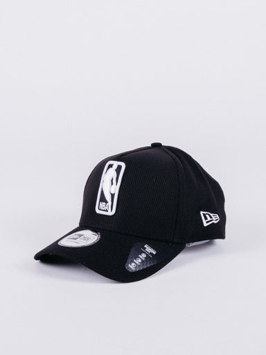 gorra new era 9Forty NBA Logo A-Frame Hat Black Knit visera curva ajustable baloncesto
