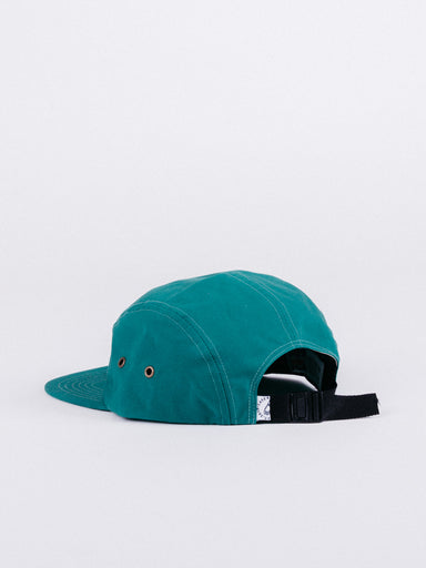 gorra Barceloneta 5 Panel Hat Bottle Green visera plana verde ajustable cinco paneles