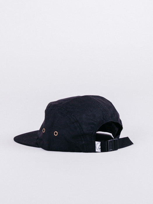 gorra Barceloneta 5 Panel Hat Black visera plana ajustable negro cinco paneles
