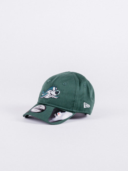 gorra new era 9FORTY MASCOT NEW YORK JETS GREEN HAT INFANT (BEBÉ) visera curva niños verde nfl