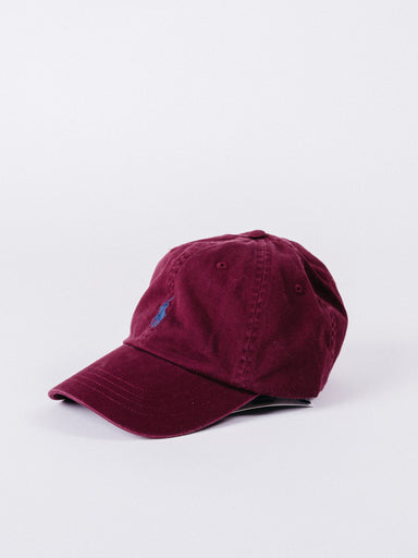 gorra polo granate