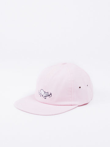 FILA DAD CAP LINEAR STRAP BACK PEACH WHIP