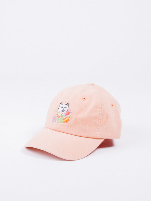 RIP N DIP NERMCASSO FLOWERS FOR BAE DAD HAT ORANGE