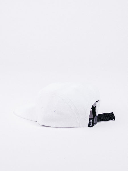 rip n dip paradise 5 panel white blanco towel hat toalla