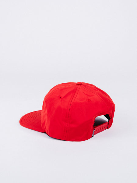 RIP N DIP BLOOMING NERM 5 PANEL SNAPBACK HAT WATERMELON