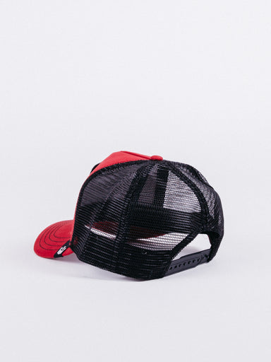 goorin bros bull trucker re black toro rojo negro