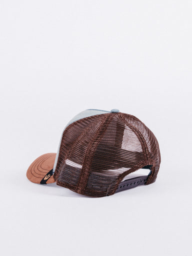 goorin bros gallo cock vaquero ante azul marron big strut trucker