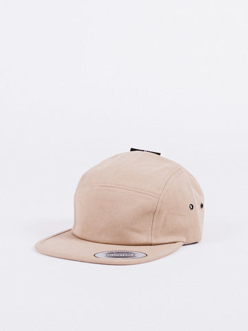 Happy Camper 5 Panel Black Hat