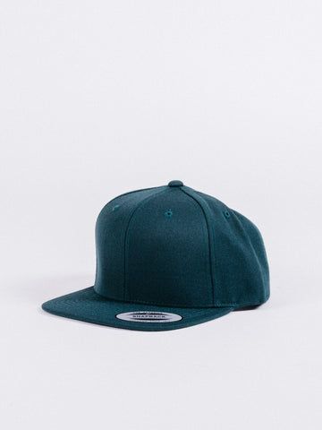 Basic Dark Green Snapback
