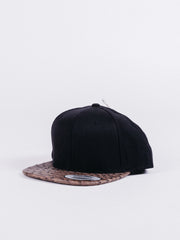 Basic Black/Brown Snapback