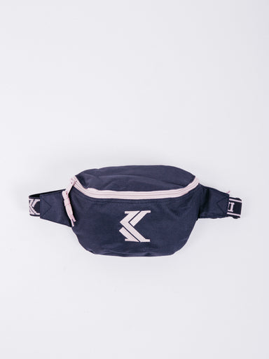 OG  K Logo Waist Bag Navy/Rose