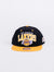 Gorra Los Angeles Lakers Mitchel and Ness Negra y amarilla