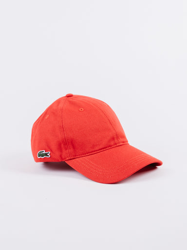 Gorra Dadhat Lacoste Rojo embroided logo