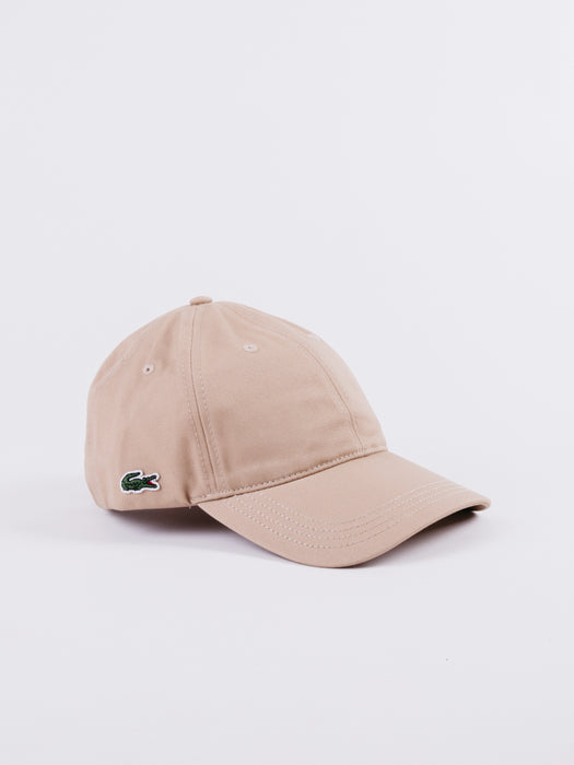 Beige Brown Dadhat Lacoste embroided logo