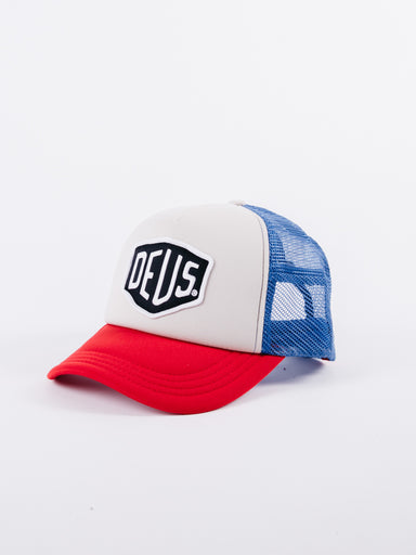 BAYCHLAND TRUCKER DEUS BLUE RED