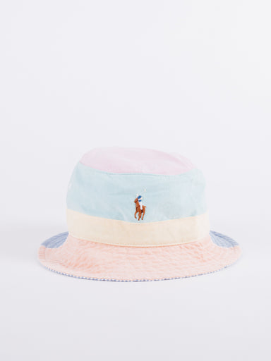 Polo Ralph Lauren Multi Panel Bucket Hat