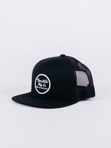 Wheeler Mesh Cap Black