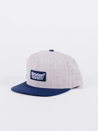 Palmer II MP Snapback Heather Grey/Navy
