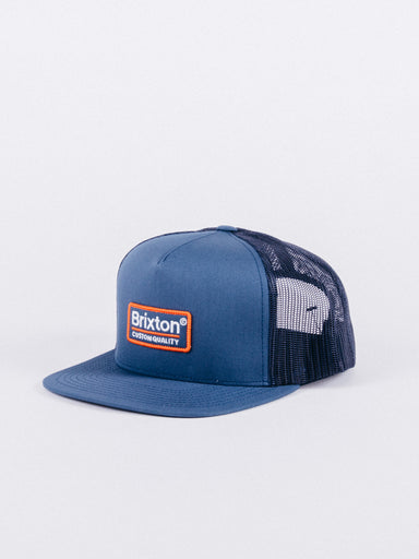 Palmer Mesh Cap Washed Navy