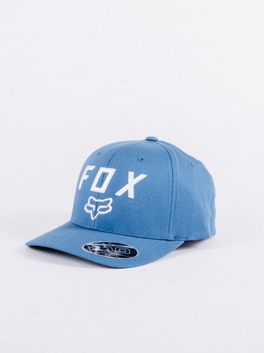 gorra motocross fox azul ajustable